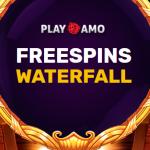 Лотерея «Freespins Waterfall» в казино PlayAmo